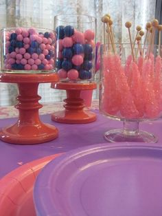 pink and purple princess birthday party ideas