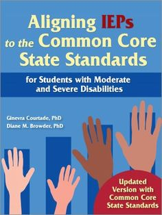 I WANT THIS BOOK! Aligning IEPs to the Common Core State Standards for Students with Moderate and Severe Disabilities