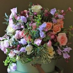 The Real Flower Company Wild Scented Summer Bouquet