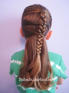 Side Braid and a Topsy Tail Twist (8)