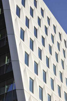 a prefab concrete facade design