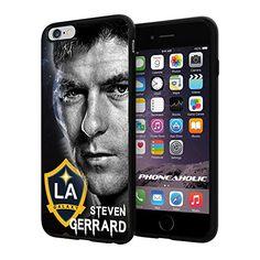 "MLS STEVEN GERRARD LA GALAXY , Cool iPhone 6 Plus (6+ , 5.5"") Smartphone Case Cover Collector iphone TPU Rubber Case Black Phoneaholic http://www.amazon.com/dp/B00VUREJOA/ref=cm_sw_r_pi_dp_SQmmvb0XH4AT2"