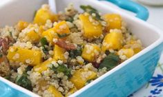 Butternut Squash & Quinoa Salad (It's Delicious & It's Vegan!)