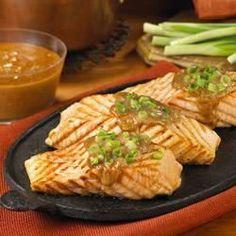 Grilled Salmon with Peanut Hoisin Sauce - Allrecipes.com