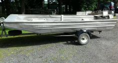 #Aluminium boat 14 ft x 5 ft seastrike #workboat #fishing boat ,  View more on the LINK: 	http://www.zeppy.io/product/gb/2/172420057906/