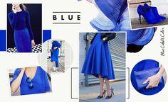 Bleu Cobalt.