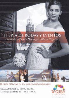 I Feria de Bodas y Eventos en Teguise - http://gd.is/MLyGT6