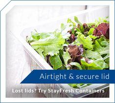 Airtight & secure lid