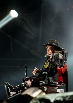 May 2016, Lisbon, Portugal - Axl Rose performs with AC/DC, Rock or Bust Tour #axl/dc #axlrose #rockorbusttour