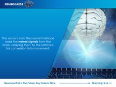 Neurogress.io. Find out more about how neurocontrol is transforming prosthetic limbs, making it easier to achieve precise movements with just the power of the mind. Invest in the interactive mind-controlled devices of the future by buying tokens now. Visit Neurogress.io.
