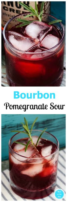 This weeks Thirsty Thursday beverage is a delicious Bourbon Pomegranate Sour that will wake up those taste buds! Check out this bourbon cocktail recipe! Cocktail Recipes Homemade, Cocktail Recipes For A Crowd, Easy Summer Cocktails, Drink Recipes, Appetizer Recipes, Bourbon Cocktails, Sour Cocktail, Cocktail Drinks, Brunch Drinks