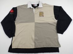 Vintage Champion Canadian Olympic Team Rugby Shirt Mens XL 1996 Distressed #Champion #Canada