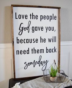 Hope everyone is having a great day! It was shipping day over here so check your email for tracking! Your happy mail is on the way! . This sign is available in 2 sizes at queenbhome.com . #woodsign #inspirationalquotes #inspiration #love #family #qbhome