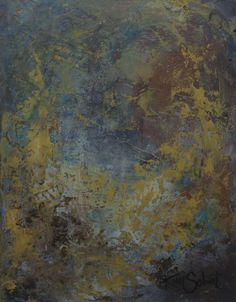 Kim Sobat | Earth | oil and cold wax