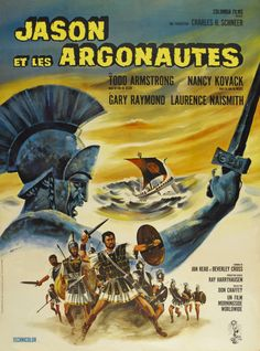 Jason and the Argonauts - 1963 - Movie Poster - special effects by Ray Harryhausen