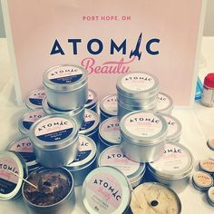 "Kate Normand's amazing ""Atomic Beauty"" line.  https://www.facebook.com/atomicbeautyco?ref=ts&fref=ts"