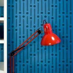 Modern Morse Code Pattern Wall Stencils for Little Boys Room Decor - Royal Design Studio Wall Stencil Designs, Wall Stencil Patterns, Paint Designs, Wallpaper Stencil, Stencil Painting On Walls, Diy Painting, Painted Wallpaper, Code Wallpaper, Stenciling
