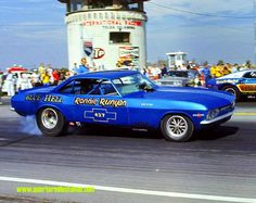 Ronnie Runyan's Blue Hell Corvair FC!