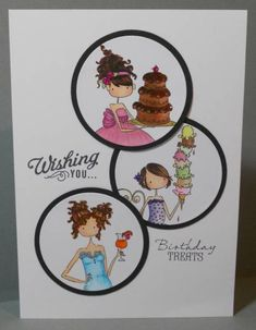 Stamping Bella Uptown Girls