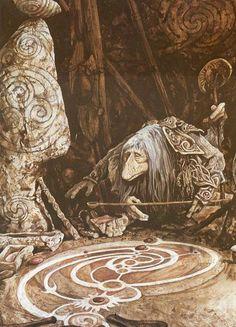 Brian Froud - The Dark Crystal