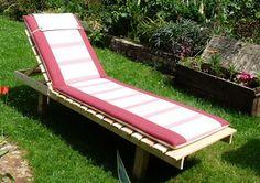 Meuble plancha en palettes id es jardin pinterest gardens - Chaise longue en palette bois ...