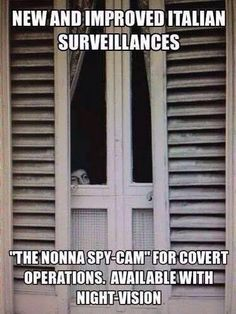 Except this is nonno at my house:) Italian Style, Italian Life, Italian Women, Italian Girls, Italian Humor, Italian Quotes, Funny Italian Sayings, Italian Girl Problems, Spy Cam