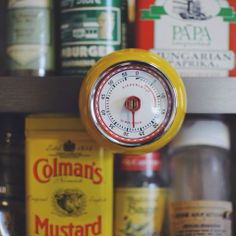 LOVE this Kikkerland Design Kitchen Timer from @Anthropologie