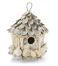 Sea Shell Bird House: