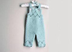 Crochet Pattern Crochet Clothing Pattern for Baby Girl Crochet Hat Pattern and Crochet Overalls Pattern Crochet Baby Bonnet Pattern Crochet Pants Pattern, Crochet Baby Pants, Pattern Baby, Crochet Baby Bonnet, Crochet Baby Blanket Beginner, Baby Girl Patterns, Bonnet Pattern, Romper Pattern, Baby Girl Crochet