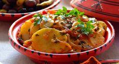 Tajine au four Turkish Recipes, Ethnic Recipes, Beignets, Thai Red Curry, Barbecue, Potato Salad, Chicken, Cooking, Food
