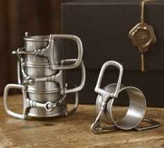Shop horse bit napkin ring gift set from Pottery Barn. Our furniture, home decor and accessories collections feature horse bit napkin ring gift set in quality materials and classic styles.