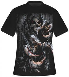 T-Shirt Mec Spiral DARK WEAR - Death Claws Clothing Boutique Interior, Skull Shirts, Men Clothes, Aesthetic Grunge, Punk Fashion, Indian Outfits, Punk Rock, Casual, Gothic