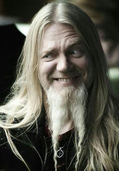 Marco Hietala, funny face!