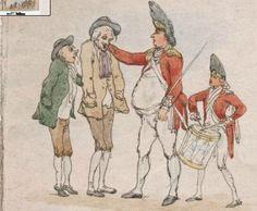 Thomas Rowlandson Sketches 1790