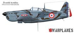 Morane Saulnier M.S. 406C1, no. 871