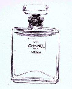Chanel No 5 Art Print