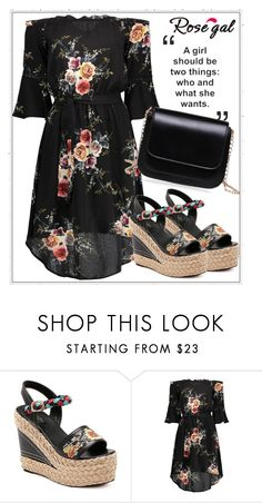 """""""Rosegal 49/60"""" by esma-osmanovic ❤ liked on Polyvore"""