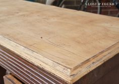How to Refinish a Tabletop