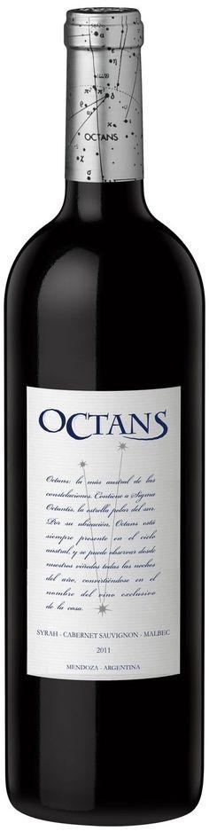 """""""Octans"""" Syrah / cabernet sauvignon / malbec 2011 * - Bodega Carinae, Maipú, Mendoza------------------------------Terroir: Cruz de Piedra -------------Crianza: 8 meses en barricas de roble francés"""