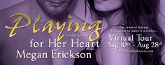 Blog Tour Review and Giveaway: Playing for Her Heart by Megan Erickson  Playing for Her Heart by Megan Erickson Book Two of the Gamers series Publisher: Brazen Publication Date: August 11 2015 Rating: 4 stars Source: eARC from NetGalley Warning: this is an adult book and for the eyes of mature readers Official Summary: Grant Osprey just had the hottes