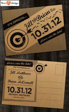 Thru 79 Design 4.25 x 6 Bullseye Save The by KJohnstonCreative