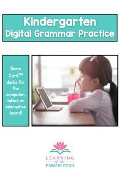 "Make distance learning more tolerable for your kiddos with digital activities! Each deck is made up of 20 digital ""cards."" Audio directions are included for each activity, so students won't need to read directions. Grammar Games, Grammar Practice, Grammar Skills, Grammar Activities, Teaching Grammar, Learn To Spell, Learn To Read, Kindergarten Writing, Kindergarten Activities"