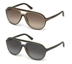 Sturdy Tom Ford 0379 sunglasses in aviator creative execution. #TomFordSergio
