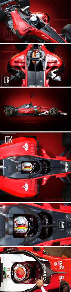 The two distinct driver protection features for F1 seem to be in constant competition for the FIA's attention! Designer Olcay Tuncay Karabulut is prepared  either way. First he gave us a glimpse as to what we might expect from the Shield with his ultra-aerodynamic proposal. Now he'sback at it with this concept for what a Halo system might look and function like. It looks pretty sleek.