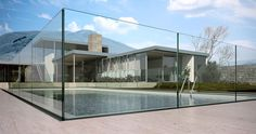 Verre Design, Glass Railing, Swimming Pools, Mansions, House Styles, Multi Usage, Home Decor, Applications, Ainsi
