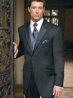 Armani black mens tuxedos design