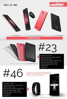 Nuevos #smartphones @WolderElectro WIAM, ya en stock. No te los pierdas!