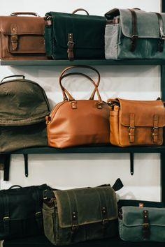 Gorgeous leather bags / ONA bags