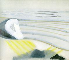 Strân Lange Peal, eitempera op doek, 70 x 80 cm, 2002