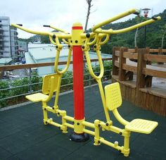fitness equipment by Jiamei Sporting Goods Co., Ltd., via Flickr